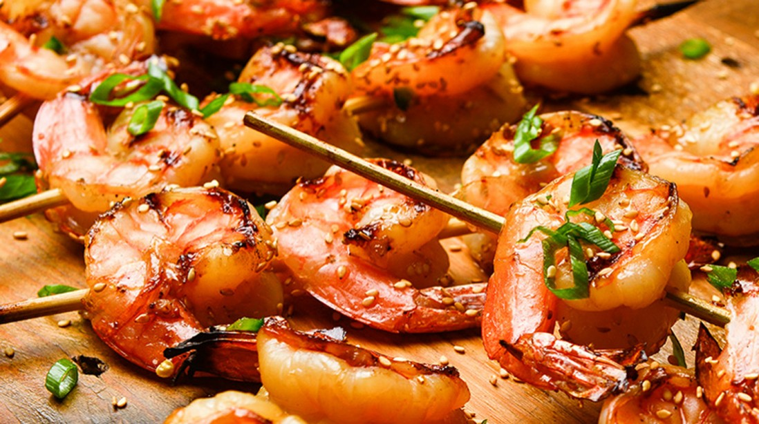 Spicy Asian BBQ Shrimp
