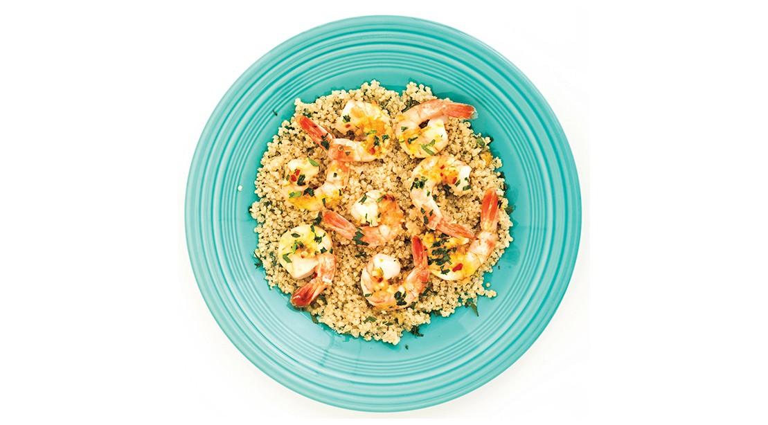 Spicy Citrus Shrimp with Quinoa