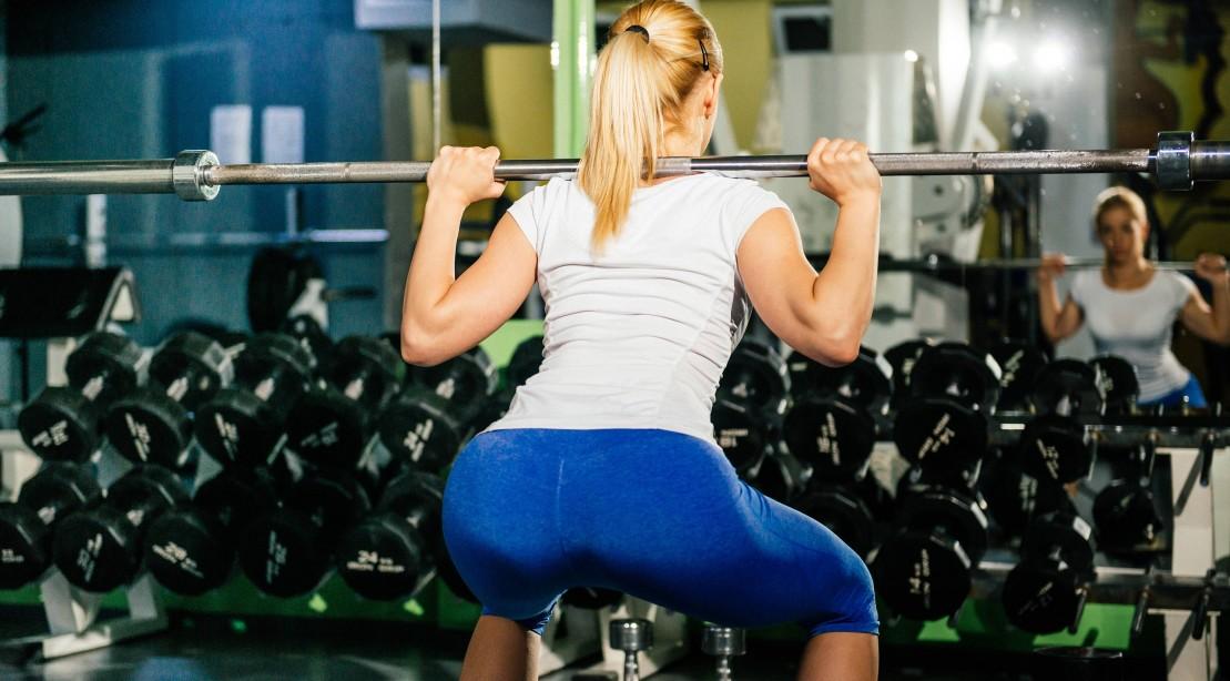 Woman Squats