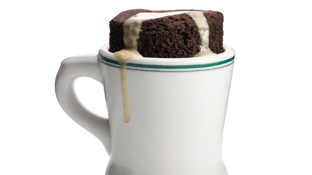 irish coffee mug cake