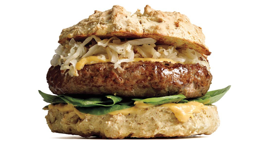 Lamb Burgers With Irish Soda-Bread Buns Recipe