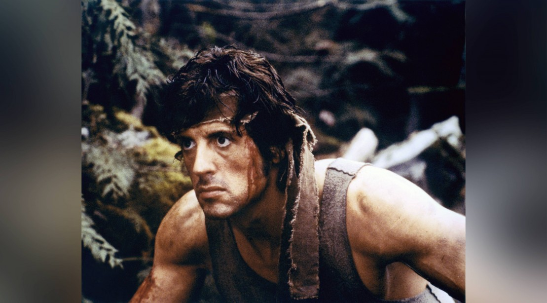 Sylvester Stallone in 'Rambo: First Blood'