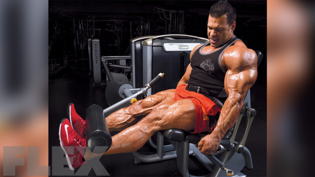 Steve Kuclo's HIIT-Inspired Pre-Contest Quad Workout
