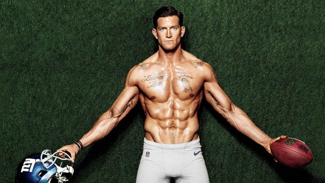 Athlete profile: steve weatherford is the nfls fittest man muscle