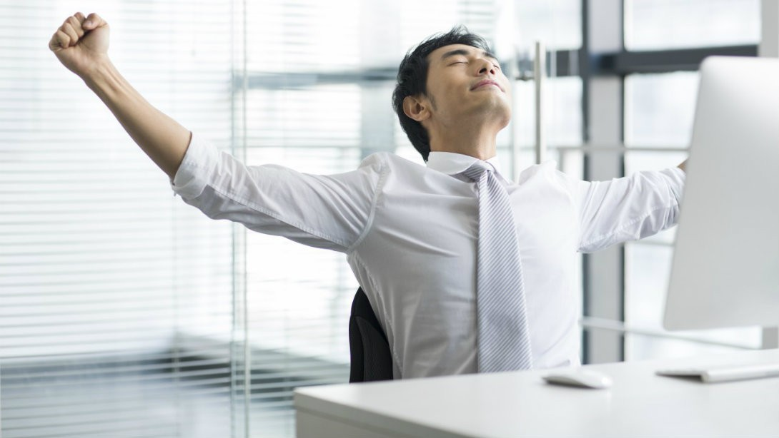 how to stay fit at work