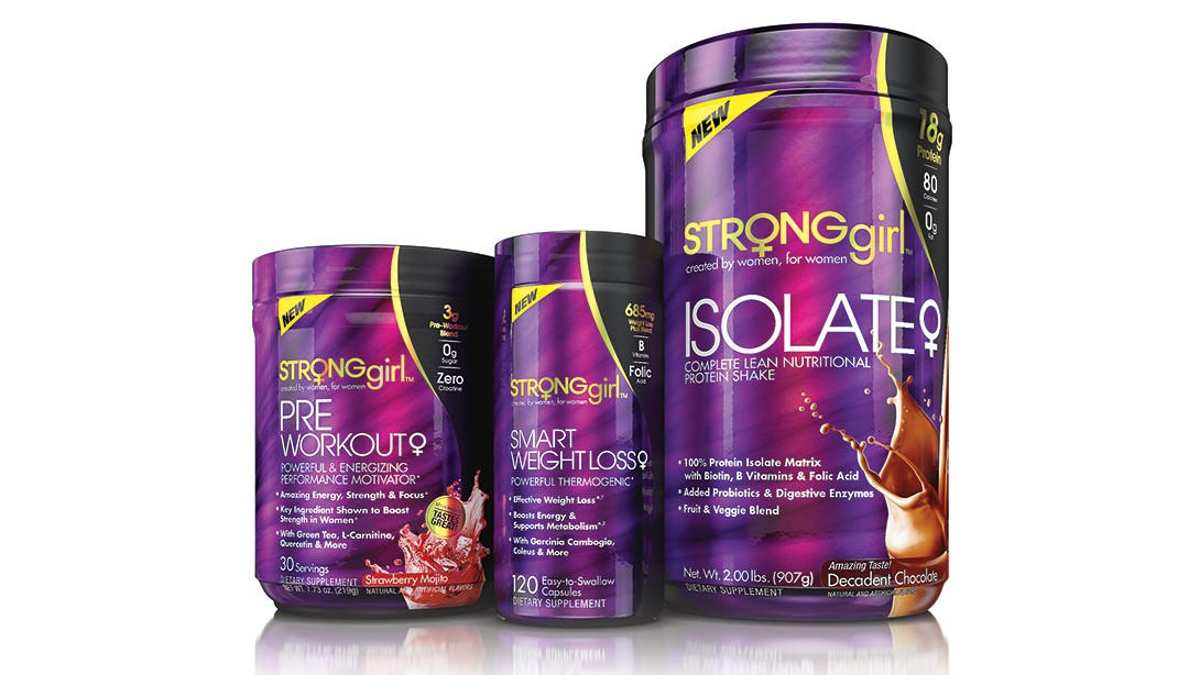 StrongGirl Supplements