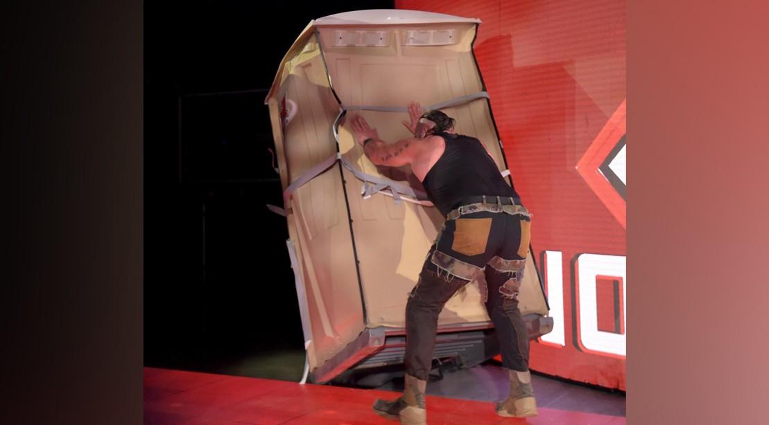 WWE Raw' Recap: Braun Strowman Traps Kevin Owens and Destroys a Port-O-John