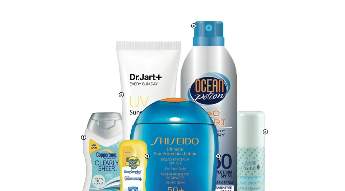 Sunscreen for healthy skin all summer