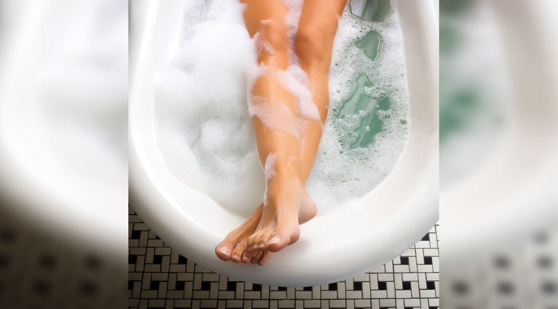 Burn Calories With A Hot Bath
