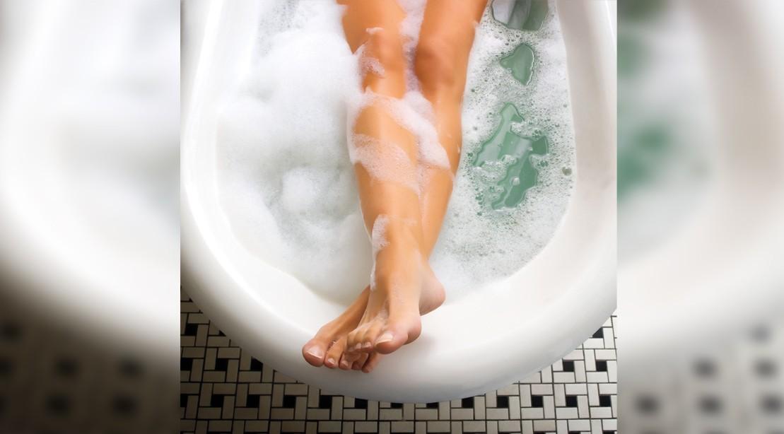Burn Calories With A Hot Bath