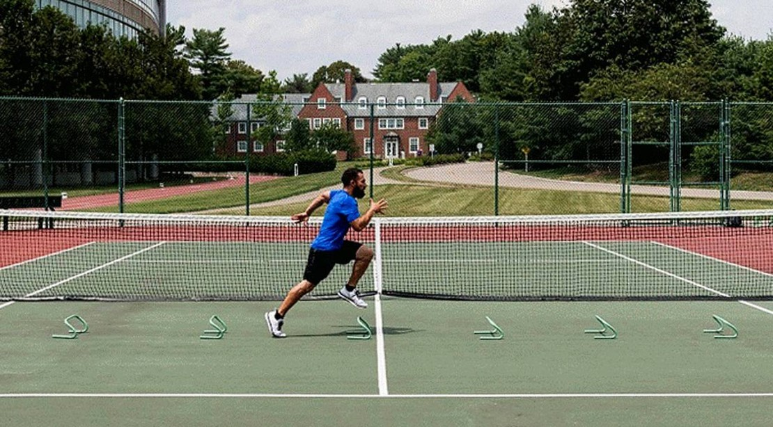 Tennis Drill Demonstrated by Luis Badillo, Jr.
