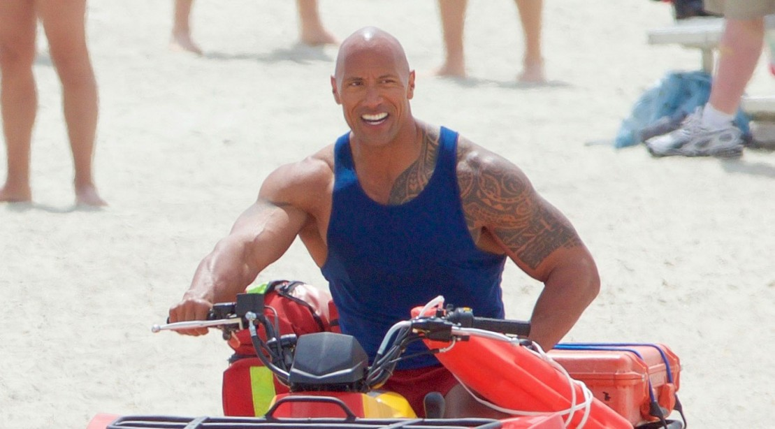 The Rock Stars in 'Baywatch'