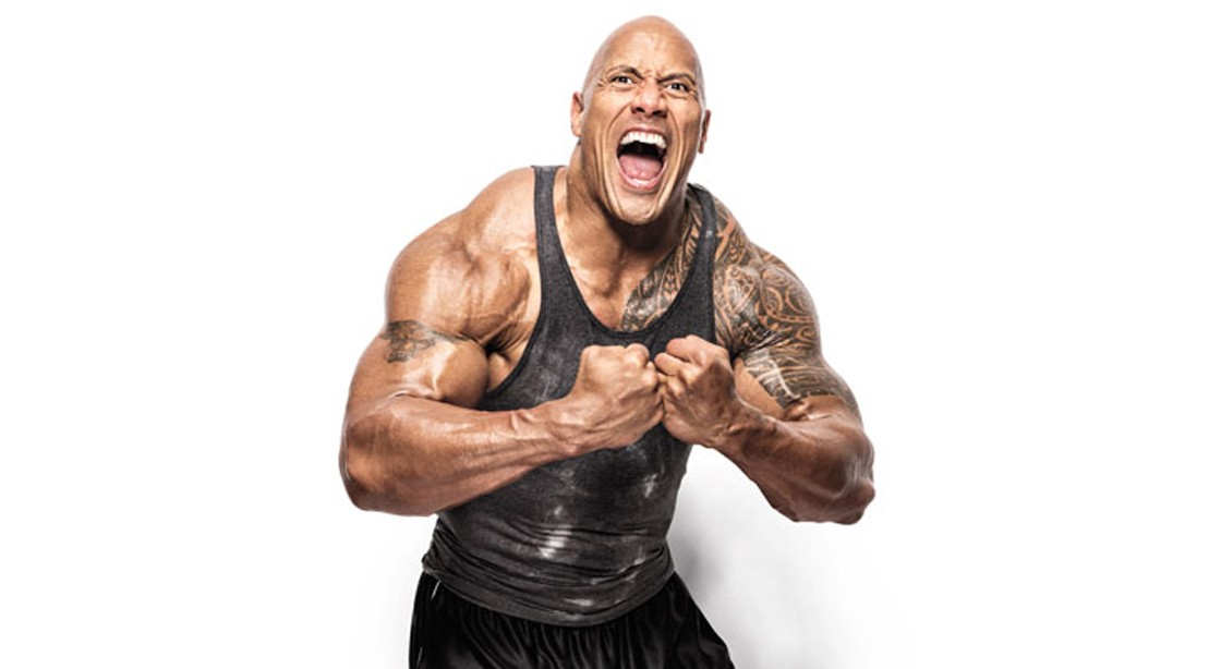 Dwayne 'The Rock' Johnson's Shoulder Workout