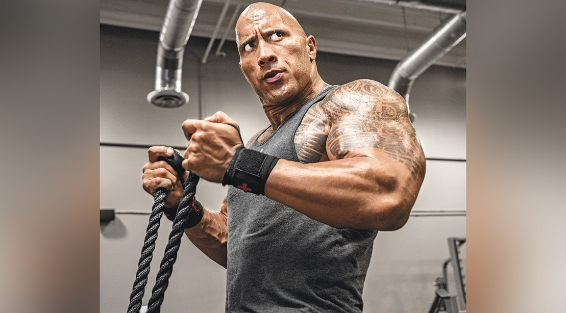 The Rock's 'Brutal' Late-Night Weekend Workout Proves There's No Bad Time to Lift