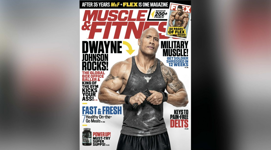 Get the August 2018 Issue of 'Muscle & Fitness'