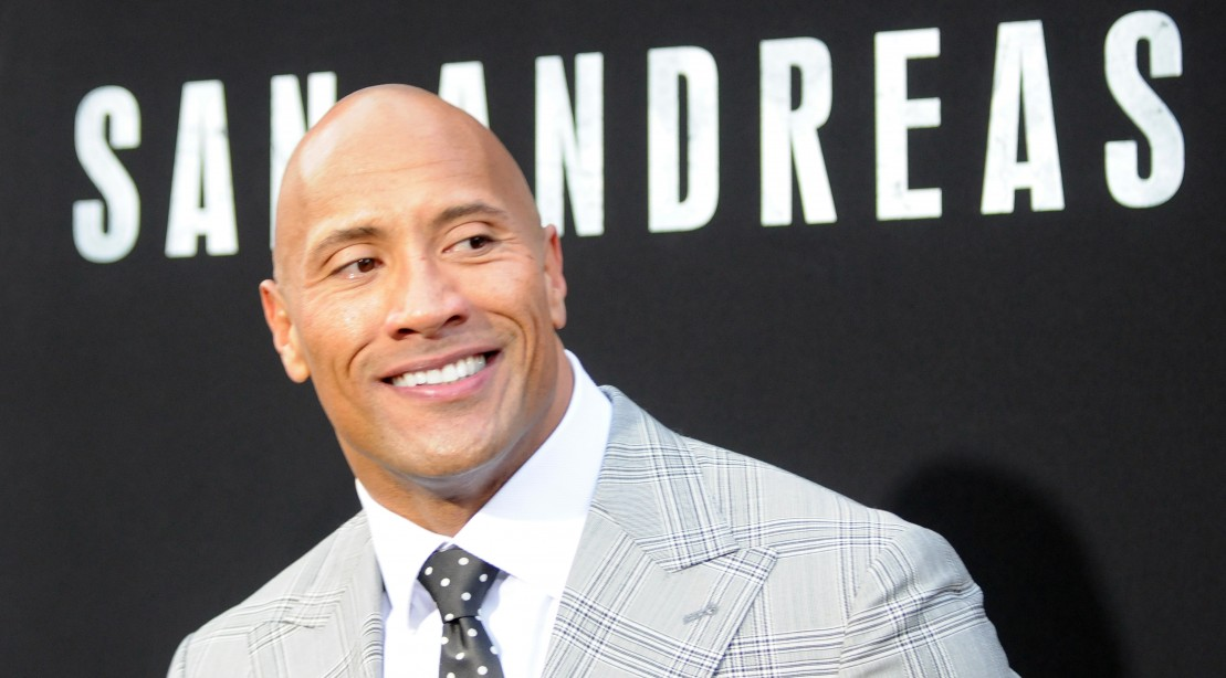 Actor Dwayne Johnson arrives for the Premiere Of Warner Bros. Pictures' 'San Andreas' held at TCL Chinese Theatre
