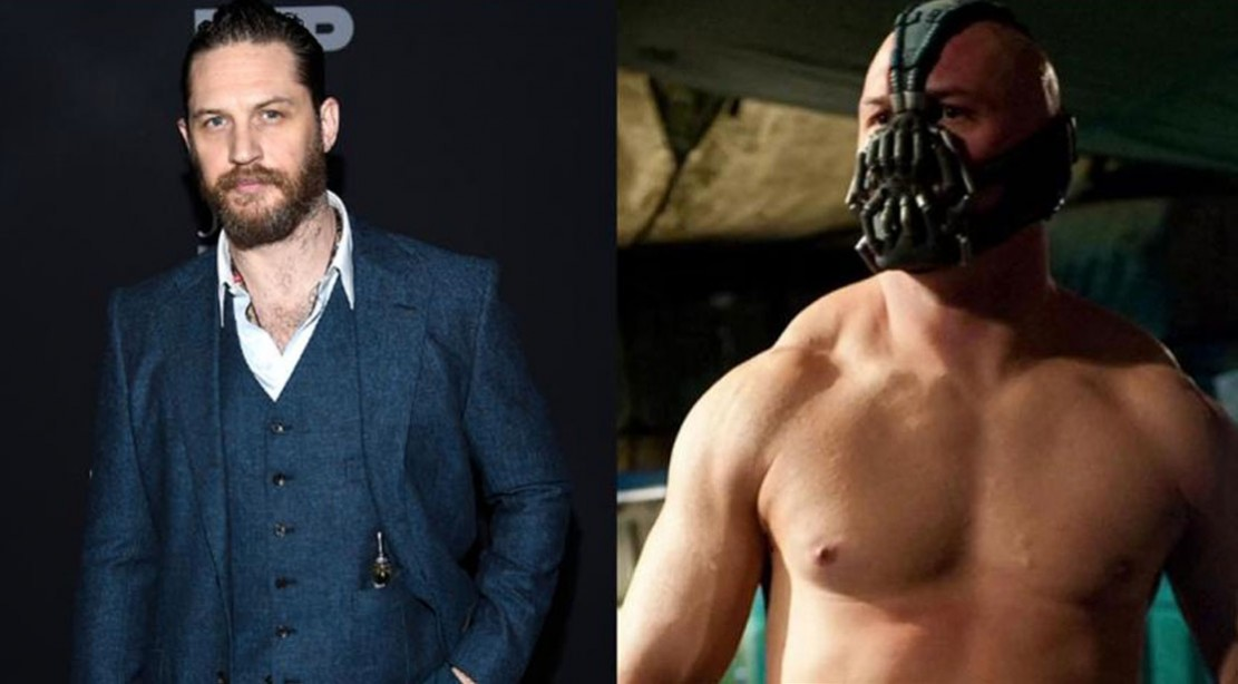 Tom Hardy says he's 'paying the price' for his incredible Bane body transformation