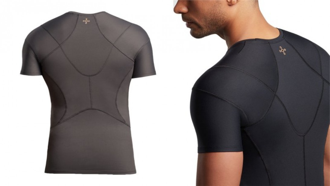 "Keep your posture healthy with this shoulder support shirt from Tommie Copper ""title ="" Keep your posture healthy with this shoulder support shirt from Tommie Copper ""/>    <div class="