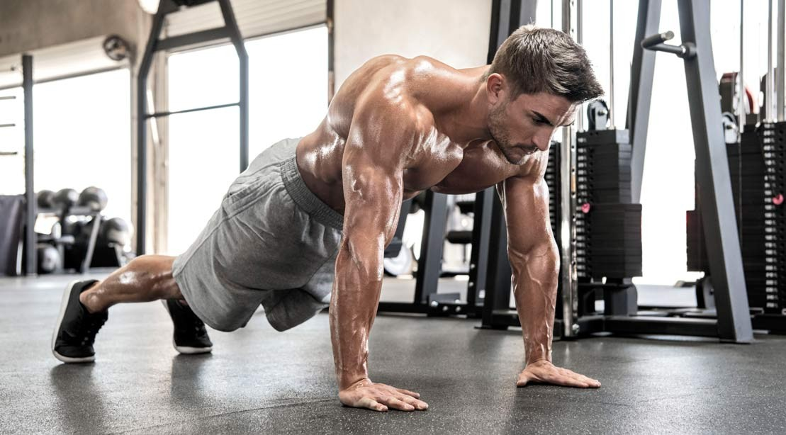 how to build muscle when you reach 30 pushup