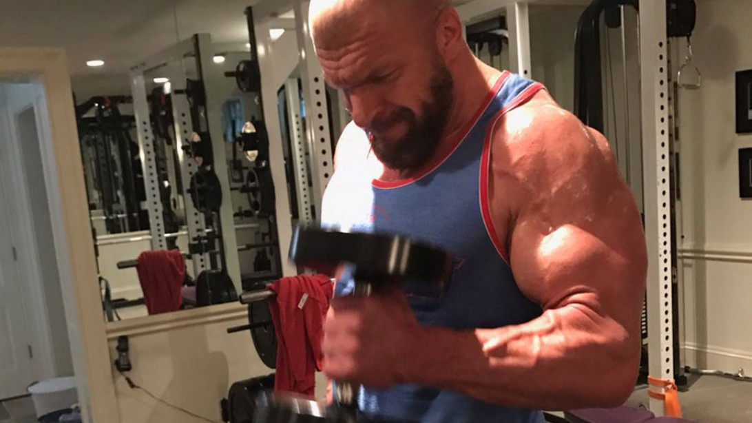 Triple H Shows Off His Massive Workout Gains In Preparation for Wrestlemania