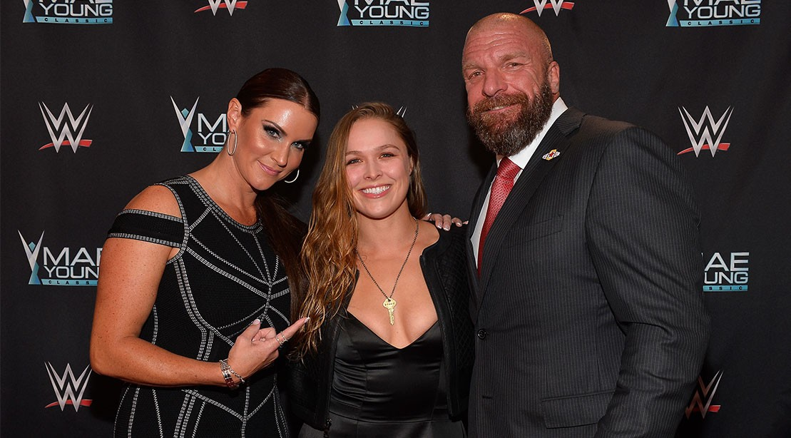 """'Triple H' Confirms to M&F He Had Dinner With Rhonda Rousey, """"Stay Tuned"""""""