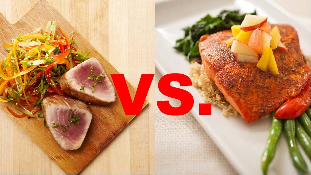 Tuna vs. Salmon