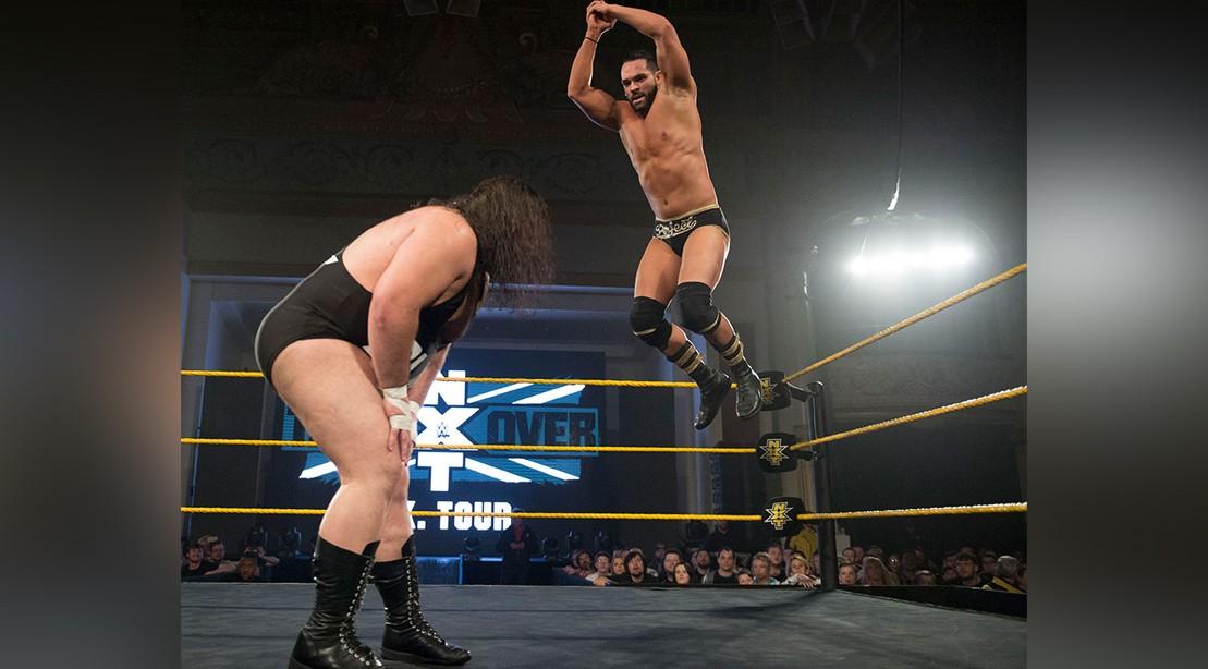 Tye Dillinger WWE Match