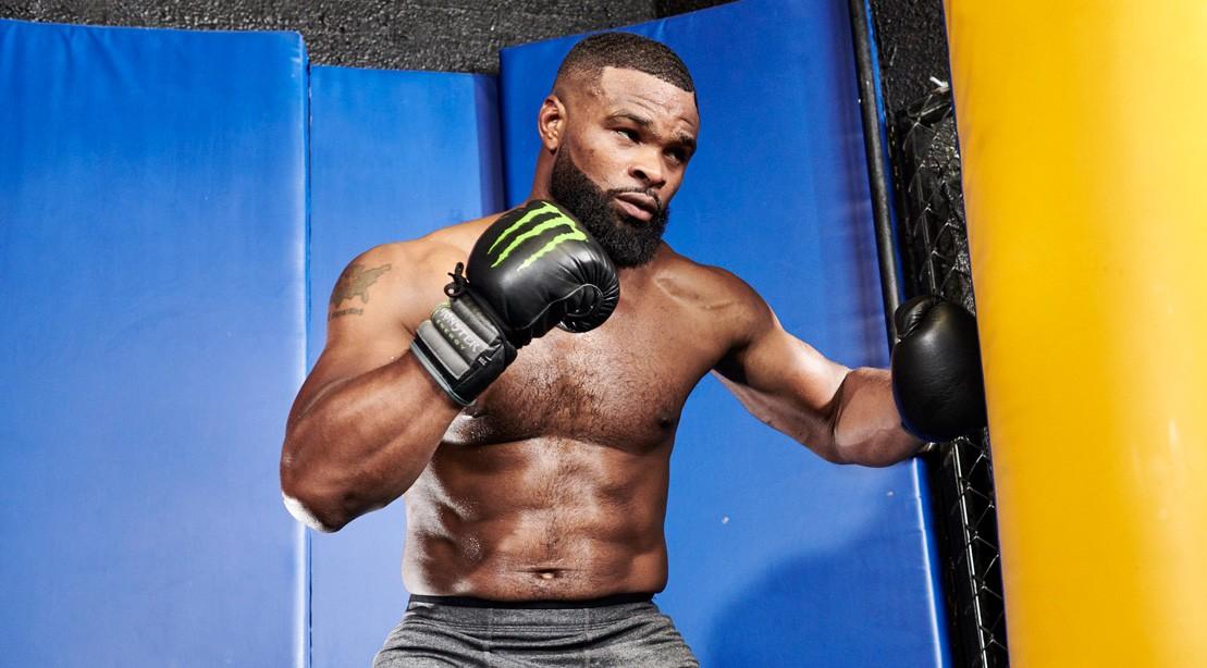 Ufc Welterweight Champ Tyron Woodleys Strength Training Workout