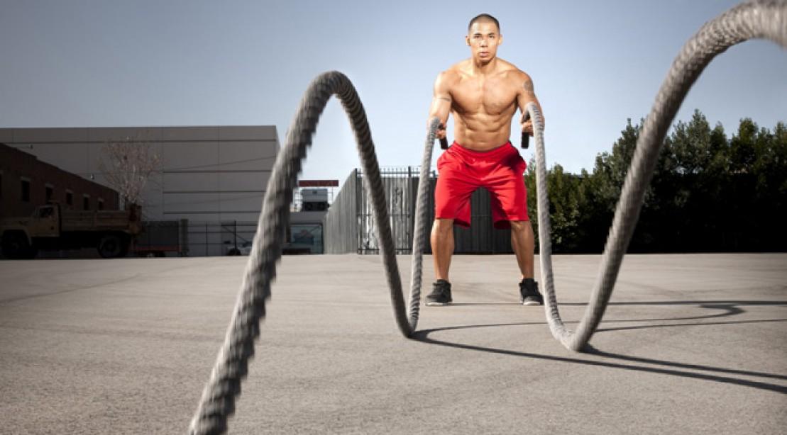 Heavy Rope Slams