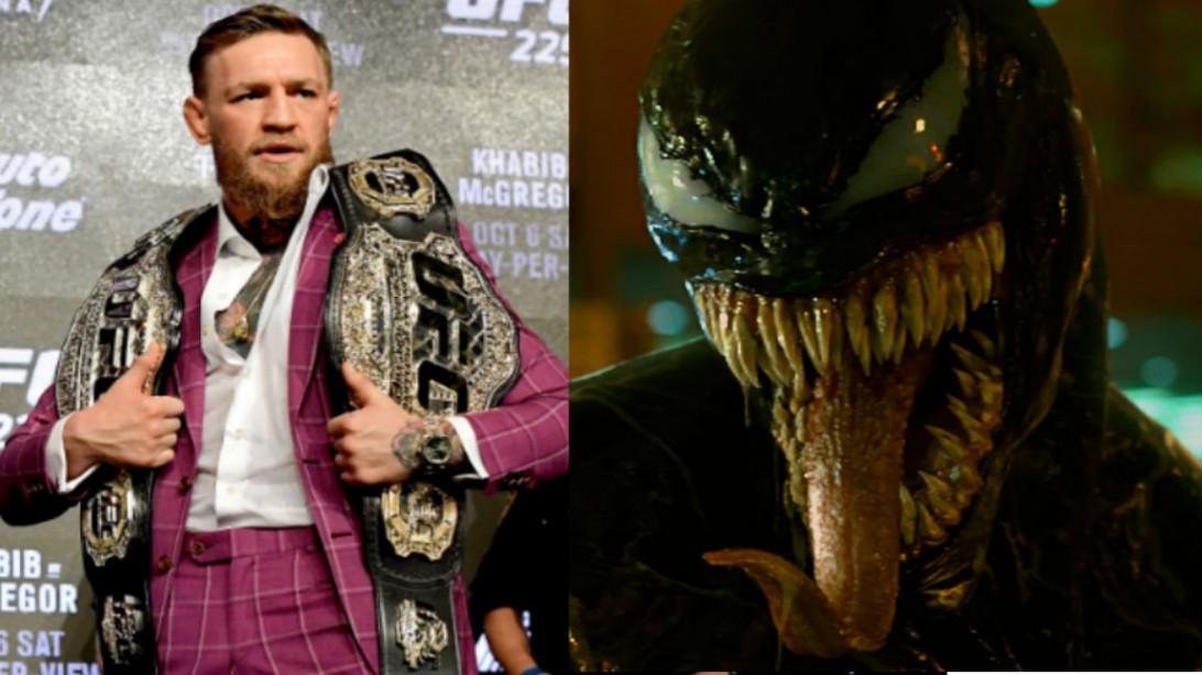 Tom Hardy Channeled Conor McGregor for 'Venom' Performance