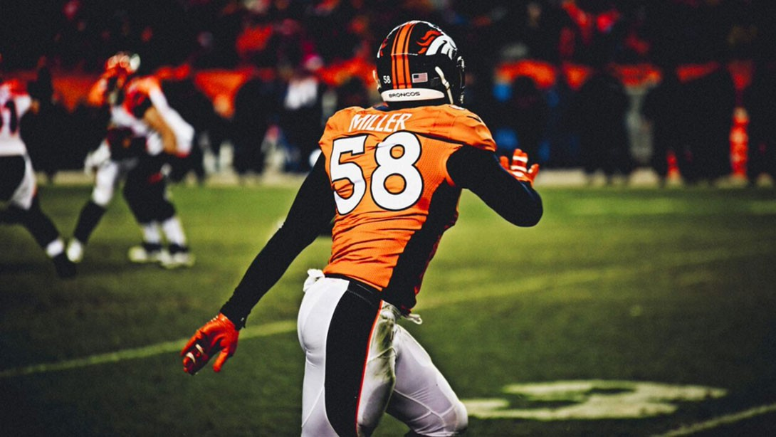 quality design b8683 69f6f Q&A With Von Miller: Staying at the Top of the Game  Muscle ...