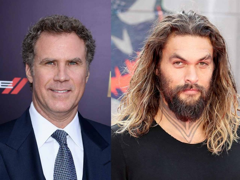 Jason Momoa is 'so f***ing happy' to be starring as Will Ferrell's TV son in new comedy film
