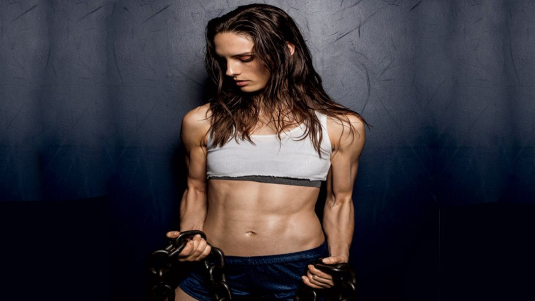 how to get rock hard abs female