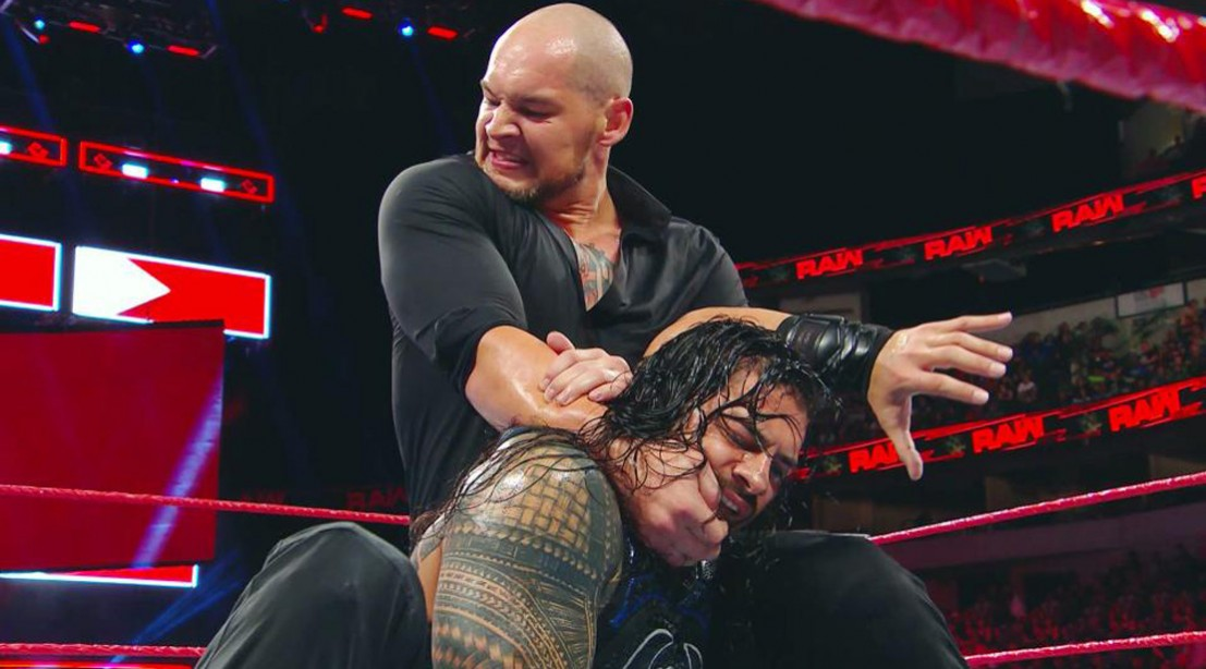 'Raw' Recap: Roman Reigns Fends Off Baron Corbin in Brutal Championship Bout