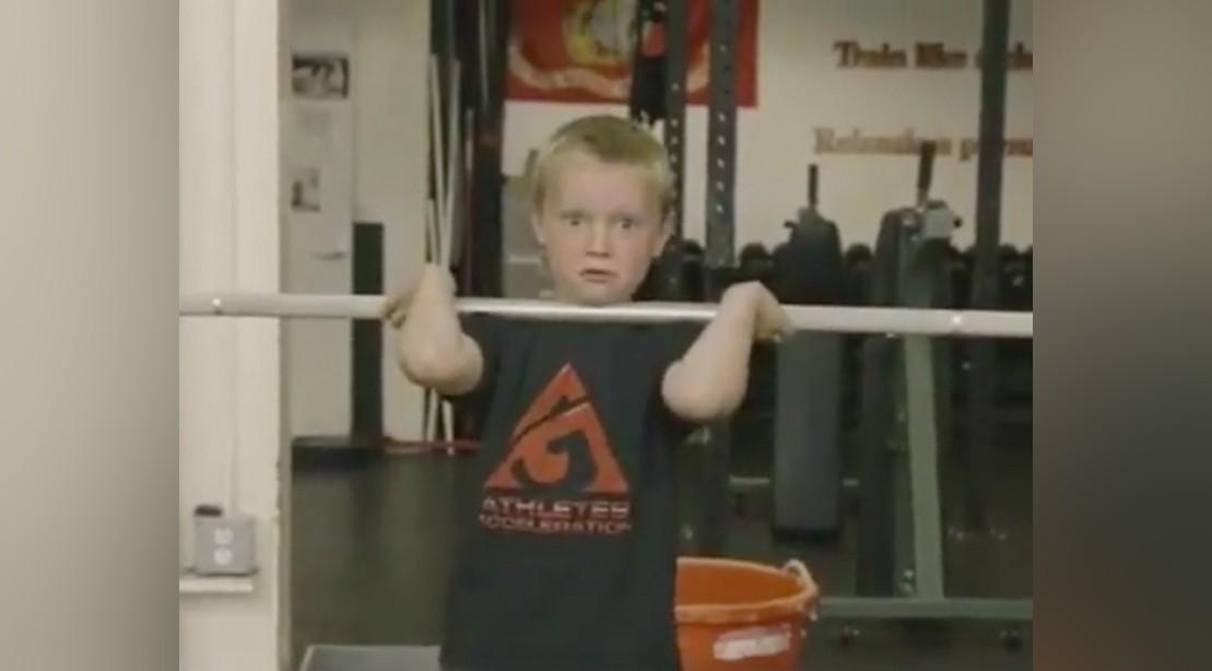 John Durant Lifting Weights