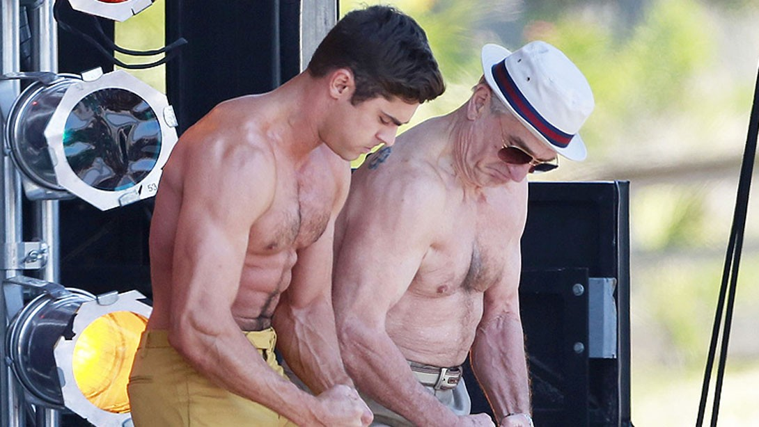 Zac efron looks shredded after training with the rock stopboris Choice Image