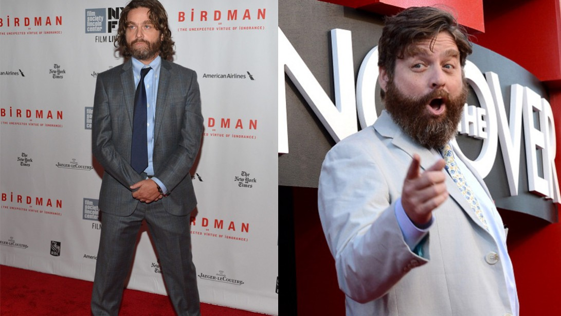 Zach Galifianakis Just Lost A Ton Of Weight