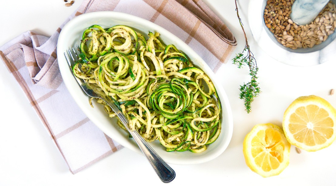 Zucchini Pasta With Chicken