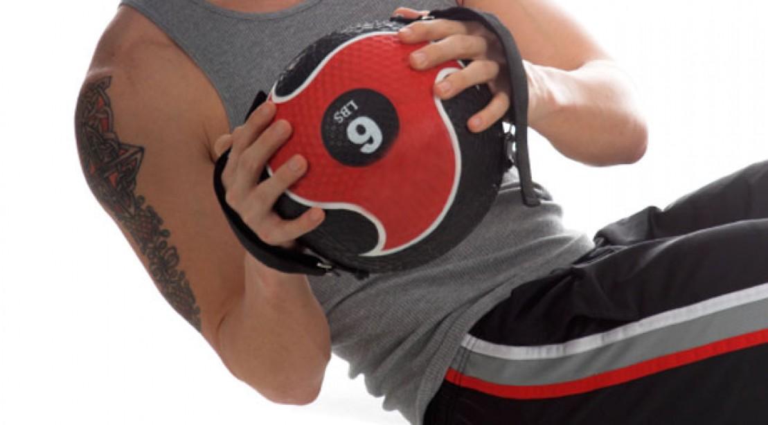 Med Ball Ab Blast