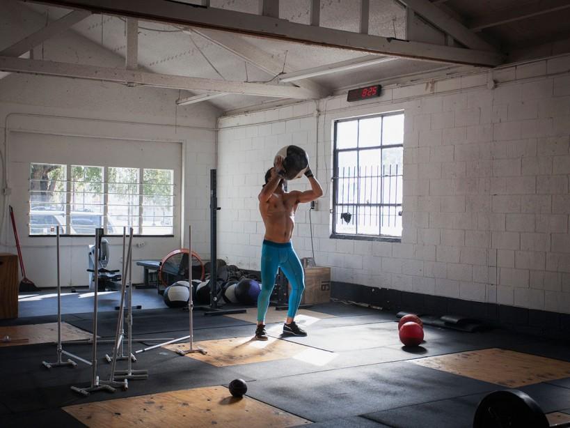 Medicine Ball in Gym