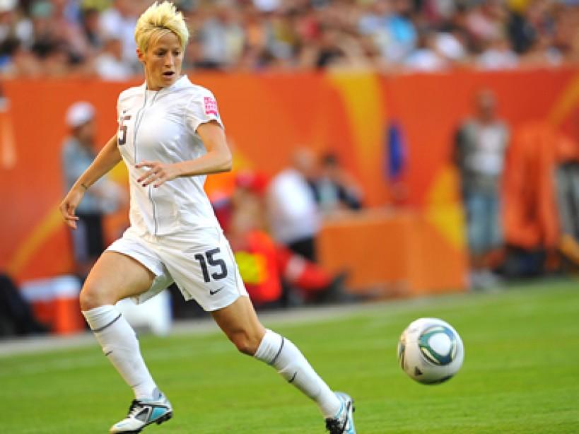USA Olympic Soccer Star Megan Rapinoe