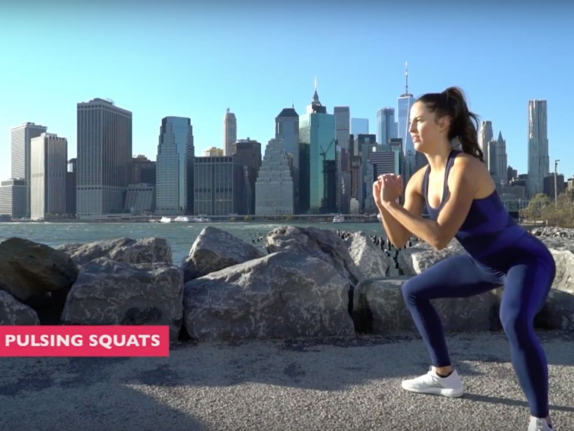 Day 4 of Do-Anywhere Bodyweight Program: Glutes