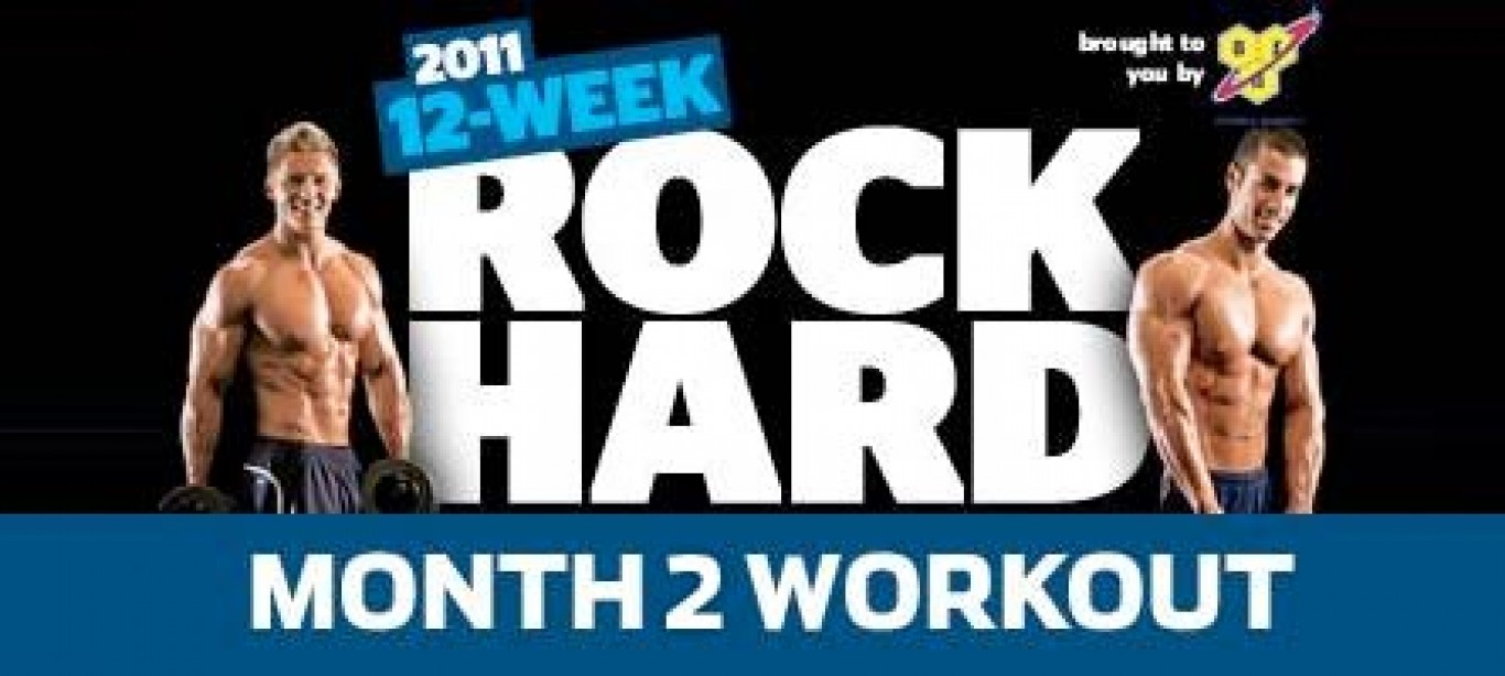 Rock Hard Challenge Month 2 Workout