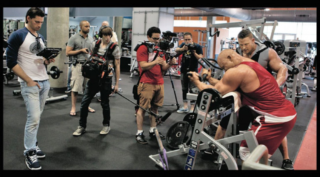 Generation Iron movie filming