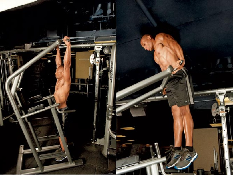 Get an Upper Body Blast With the Muscle-Up