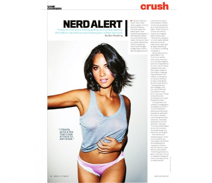 Hollywood's Hottest Geek: Olivia Munn