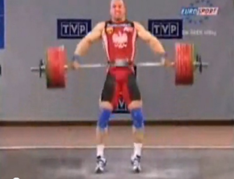 World's Greatest Olympic Weightlifters Show Their Strength