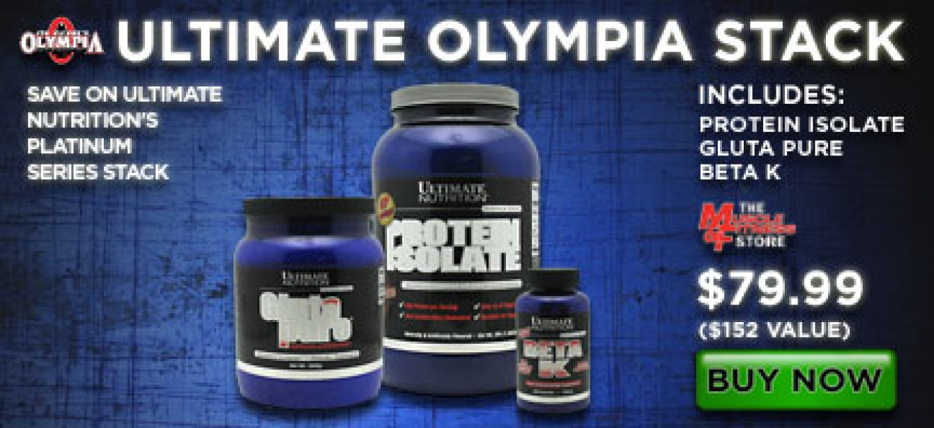 Ultimate Olympia Stack
