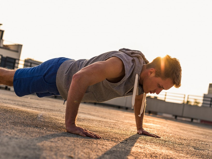 The 4-week workout plan to lose weight: Week 4   Muscle