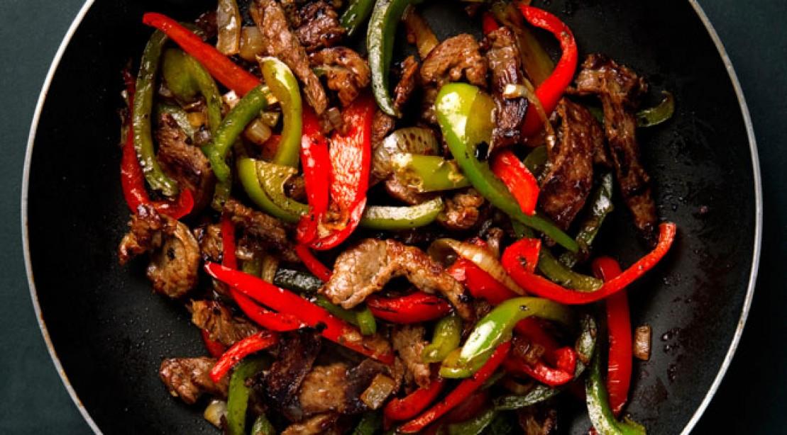 Healthy pepper steak recipe muscle fitness pepper steak recipe calories 338 forumfinder Choice Image